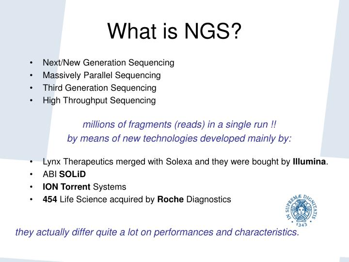 What is NGS?