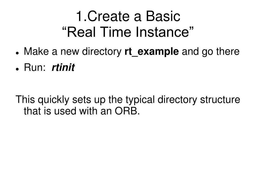 1.Create a Basic