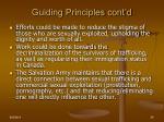 guiding principles cont d