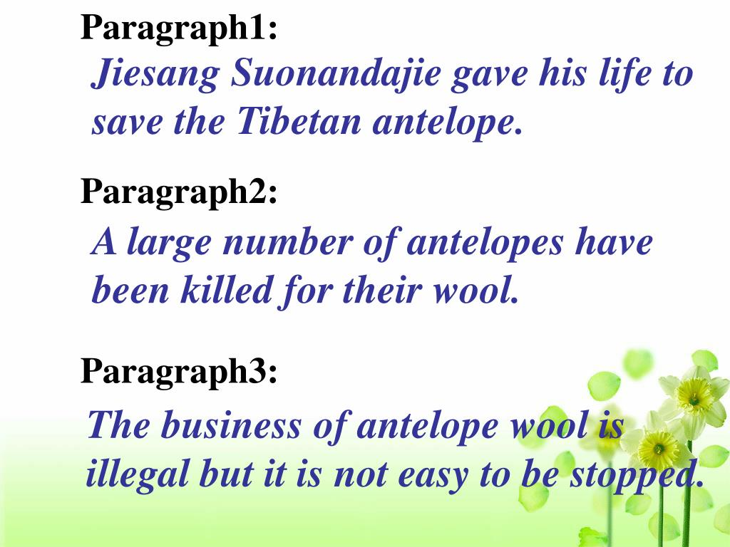 Paragraph1: