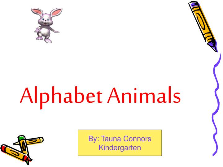 Alphabet animals l.jpg