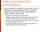 public information officer pio