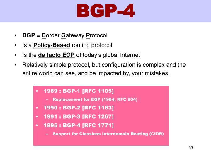 BGP-4