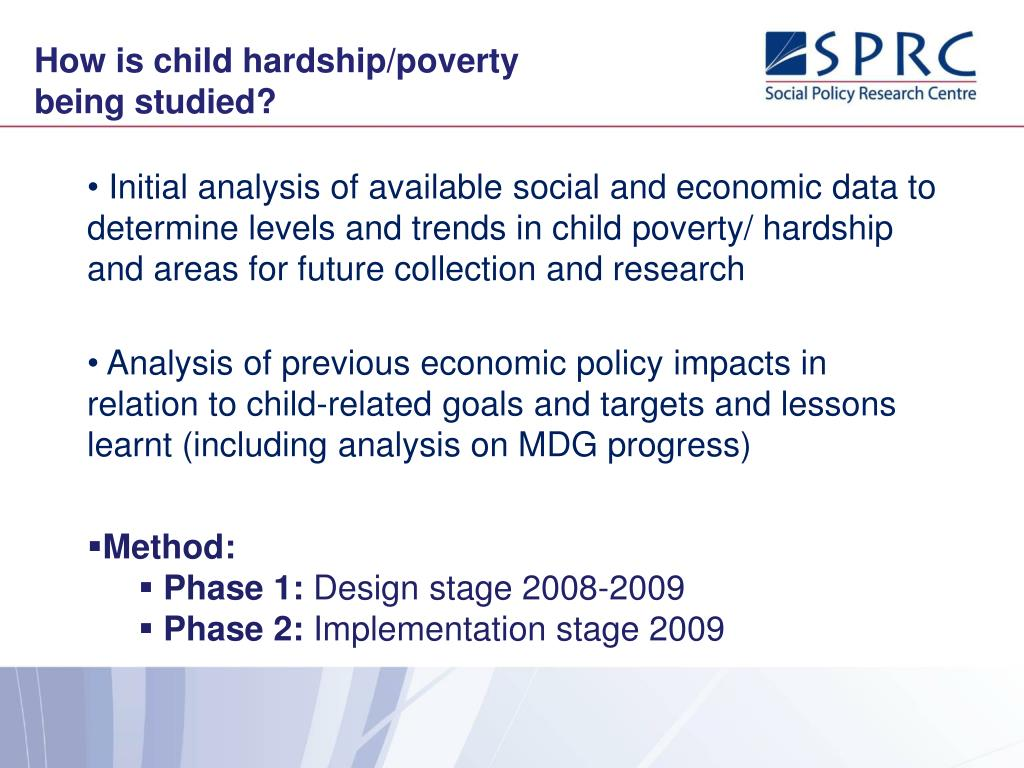 How is child hardship/poverty