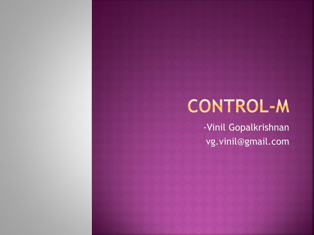 Control-M