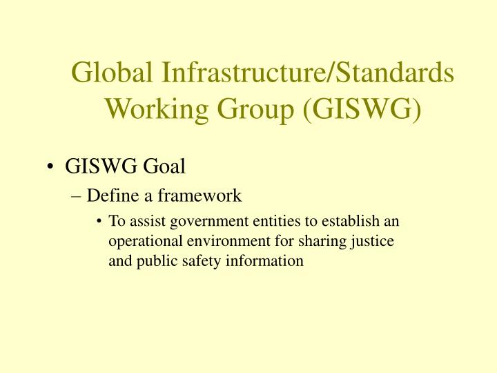 Global Infrastructure/Standards Working Group (GISWG)