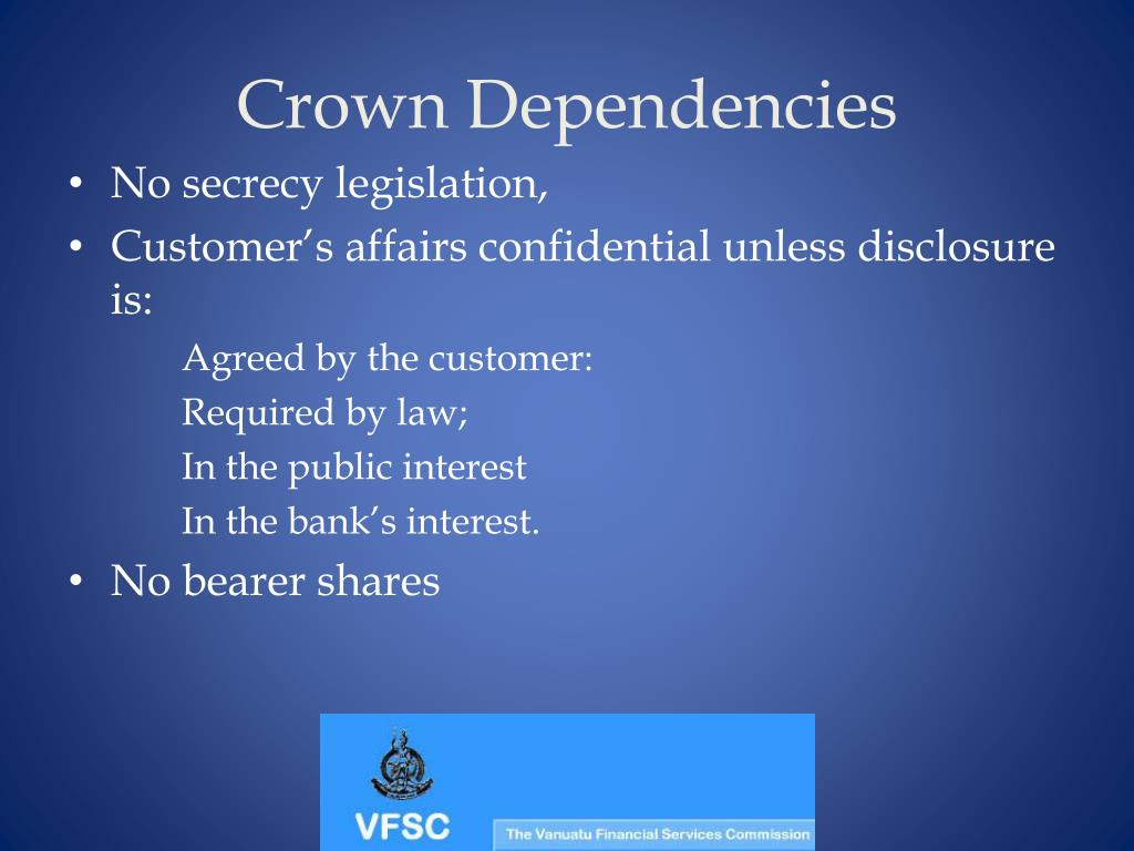 Crown Dependencies