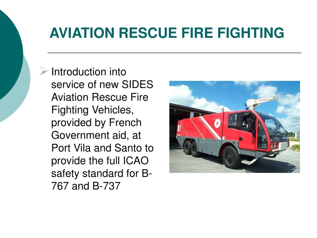 AVIATION RESCUE FIRE FIGHTING