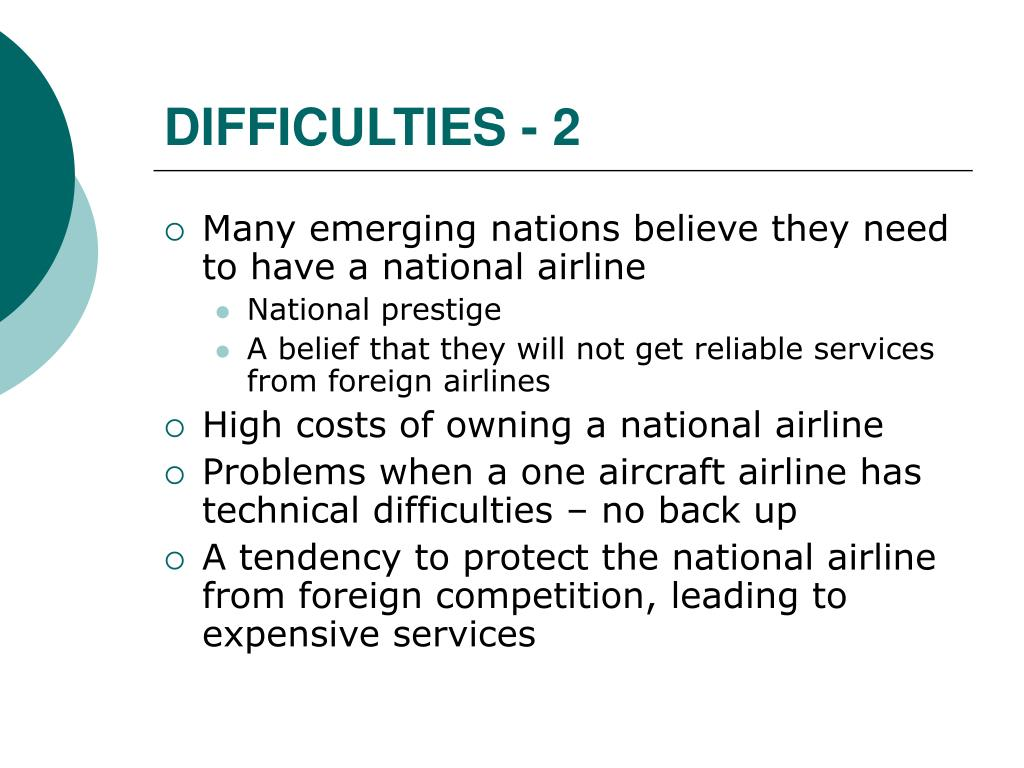 DIFFICULTIES - 2