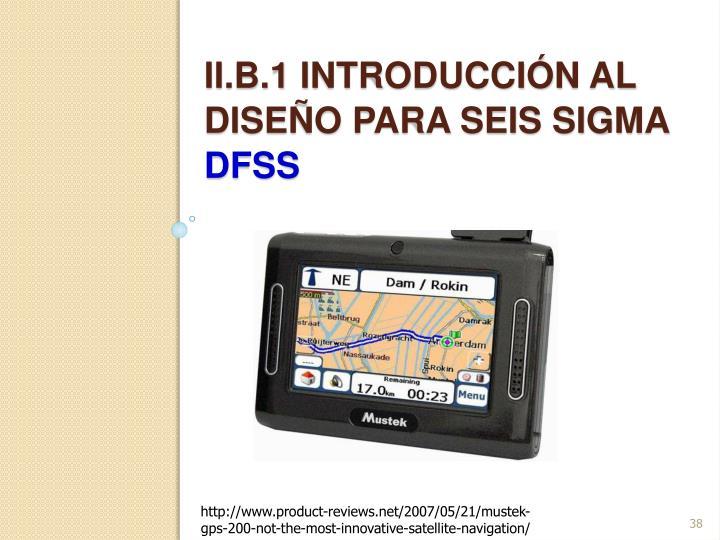 ii.b.1 introducción Al diseño para seis sigma