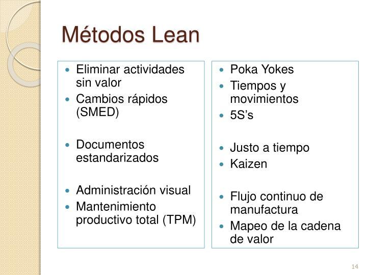 Métodos Lean