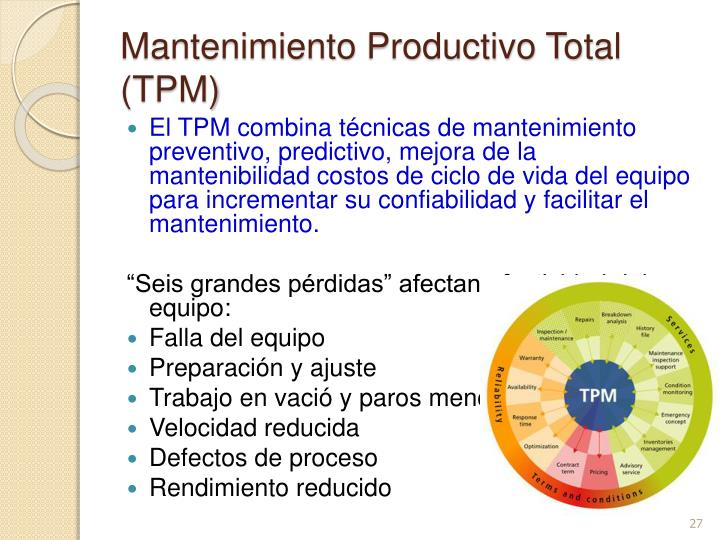 Mantenimiento Productivo Total (