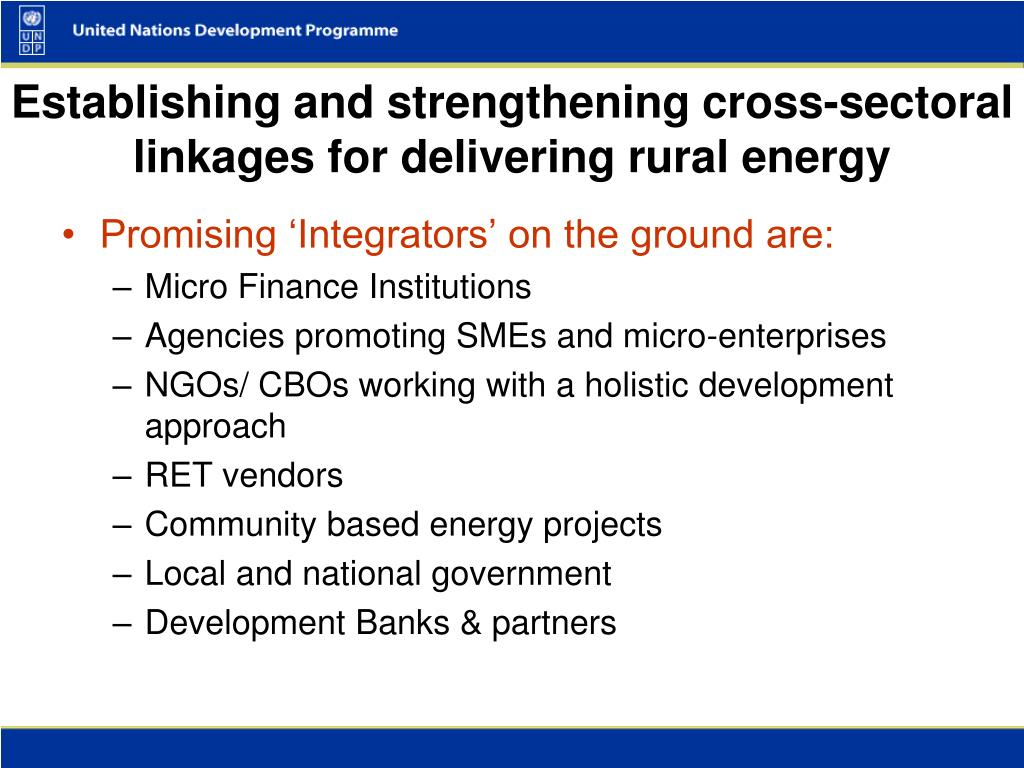 Promising 'Integrators' on the ground are: