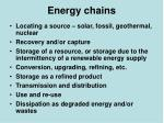 energy chains