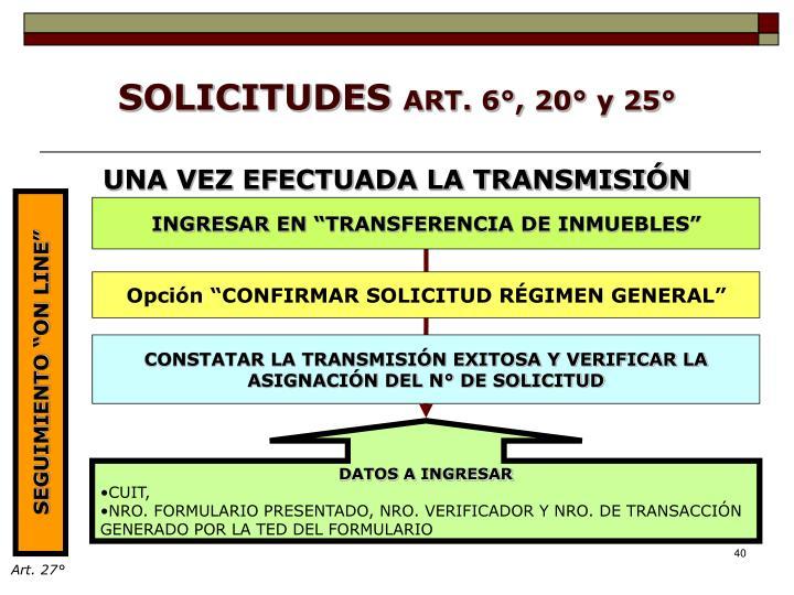 """INGRESAR EN """"TRANSFERENCIA DE INMUEBLES"""""""