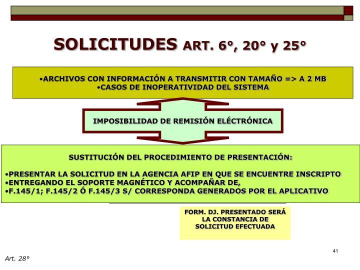 ARCHIVOS CON INFORMACIÓN A TRANSMITIR CON TAMAÑO => A 2 MB