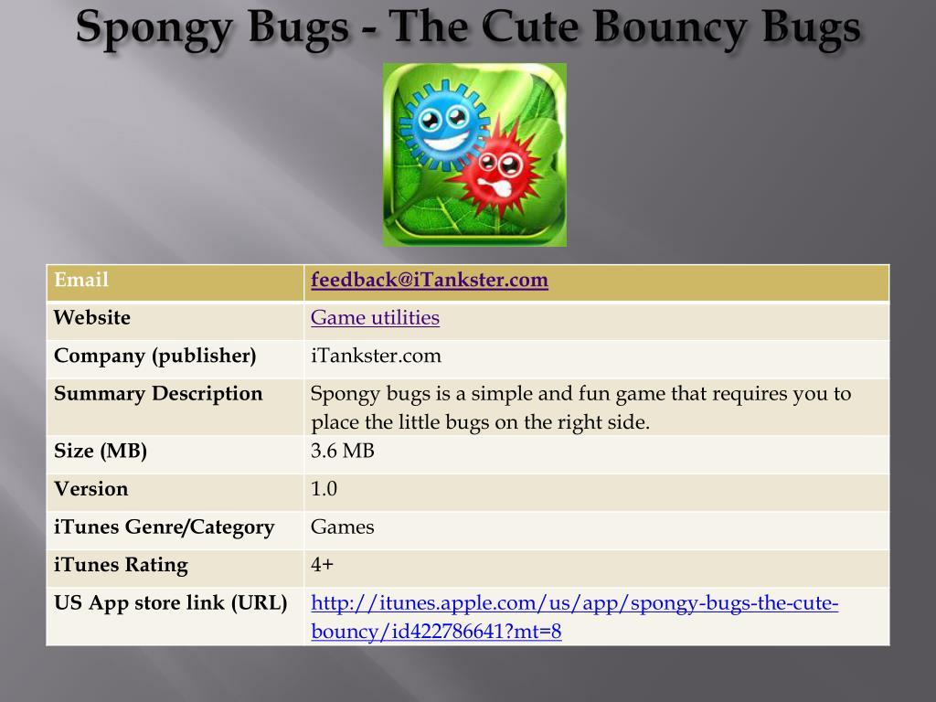 spongy bugs the cute bouncy bugs