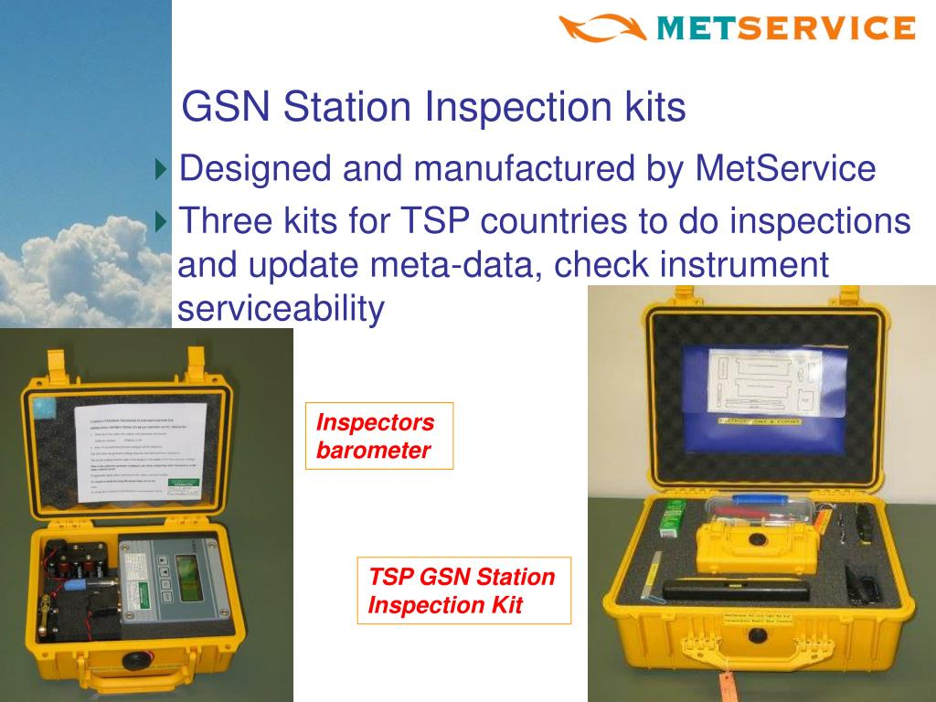 GSN Station Inspection kits