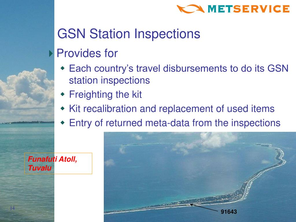 GSN Station Inspections