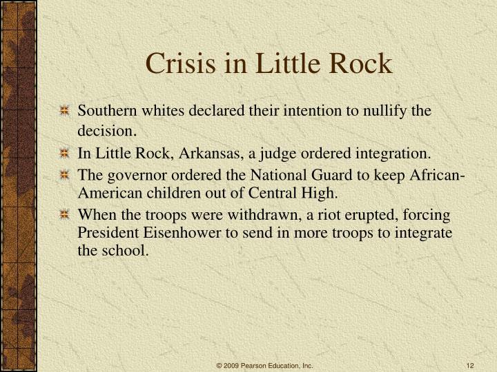Crisis in Little Rock