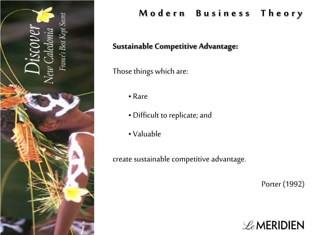 Modern Business Theory