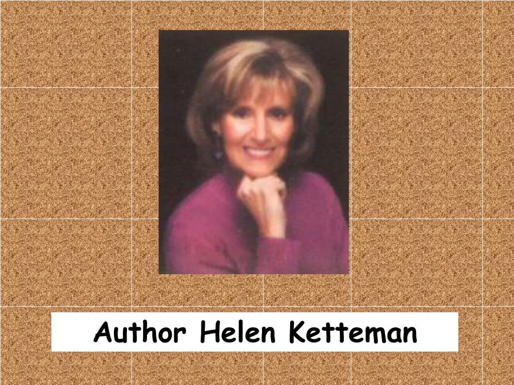 Author Helen Ketteman