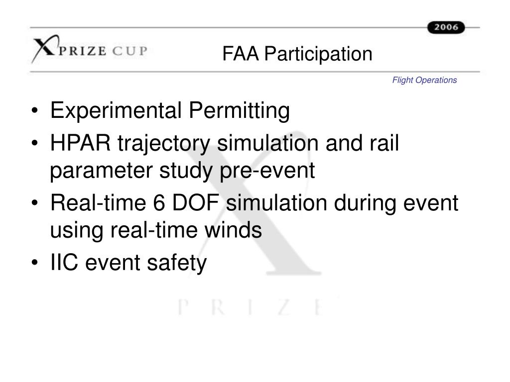 FAA Participation
