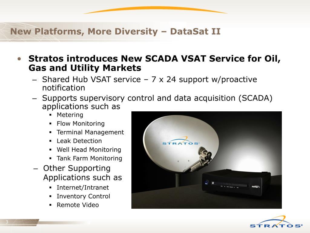 New Platforms, More Diversity – DataSat II