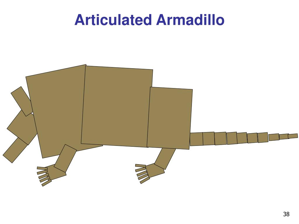 Articulated Armadillo