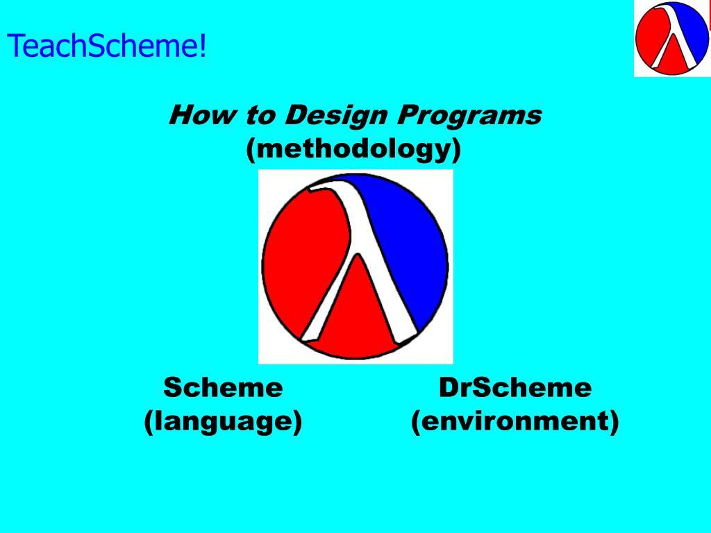 TeachScheme!