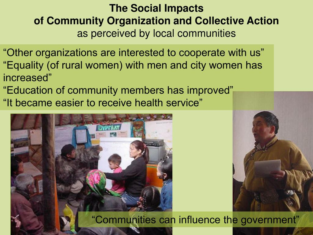 The Social Impacts