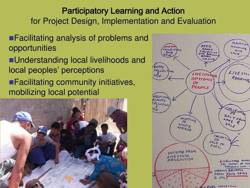 Participatory Learning and Action