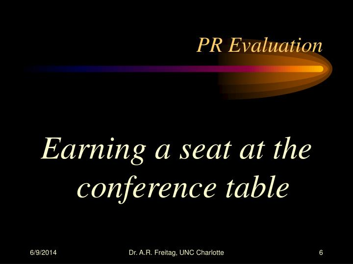 PR Evaluation