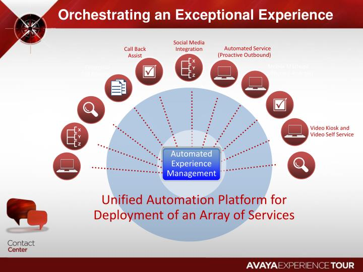 Orchestrating an Exceptional Experience