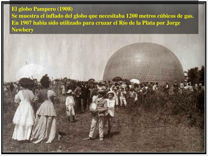 El globo Pampero (1908)