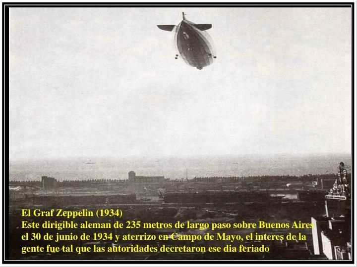 El Graf Zeppelin (1934)