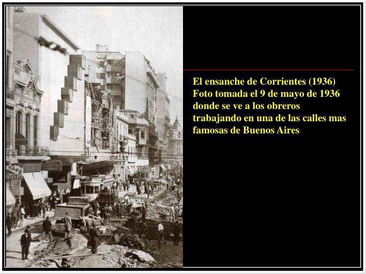 El ensanche de Corrientes (1936)