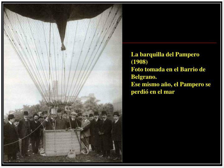 La barquilla del Pampero (1908)