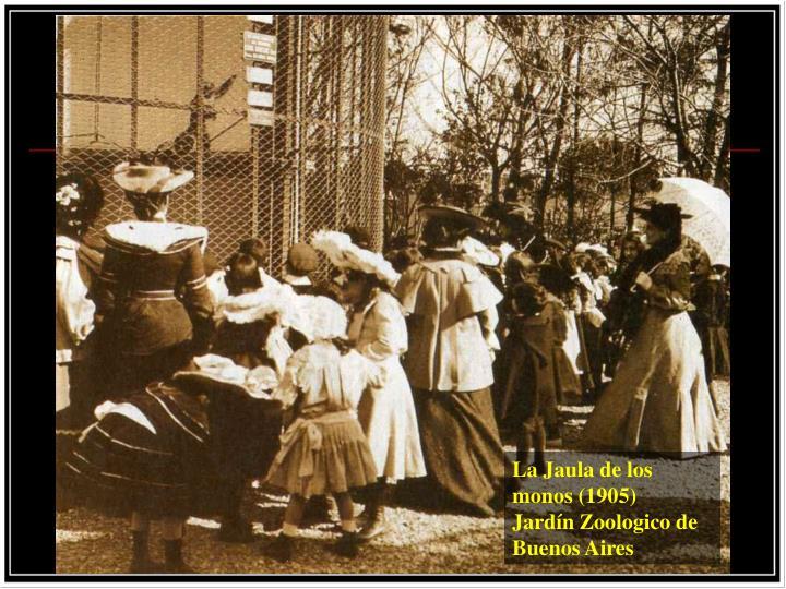 La Jaula de los monos (1905)