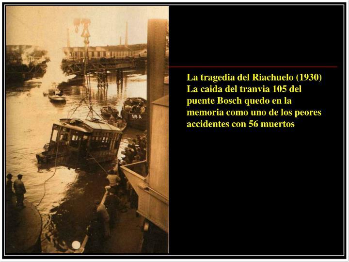 La tragedia del Riachuelo (1930)