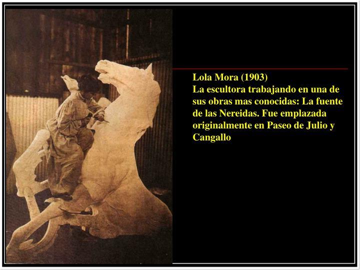 Lola Mora (1903)