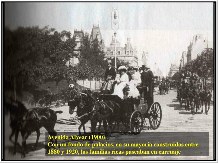 Avenida Alvear (1900)