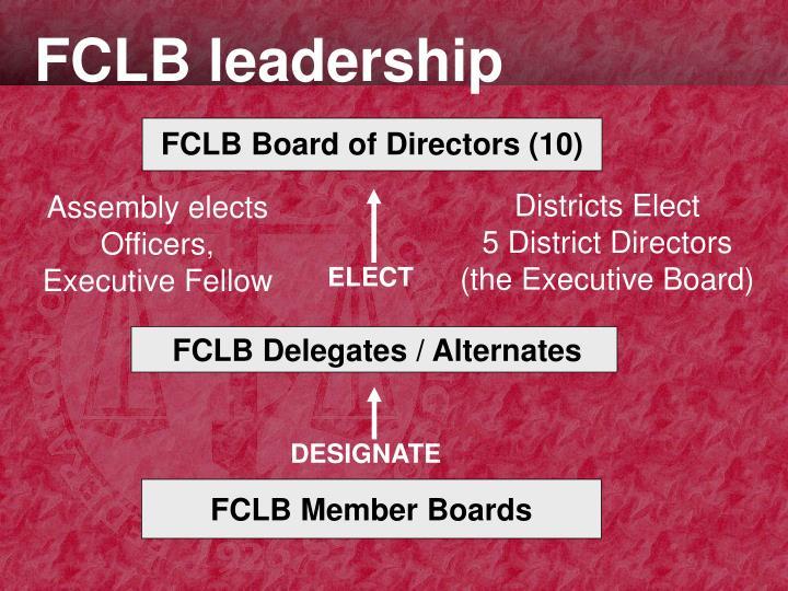 FCLB leadership