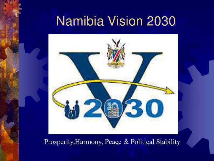 Namibia Vision 2030