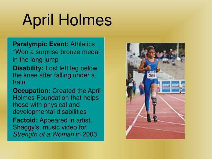 April Holmes
