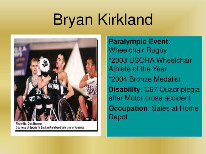 Bryan Kirkland