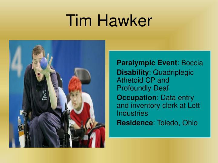 Tim Hawker