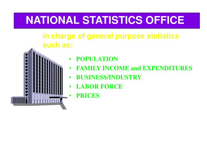 NATIONAL STATISTICS OFFICE