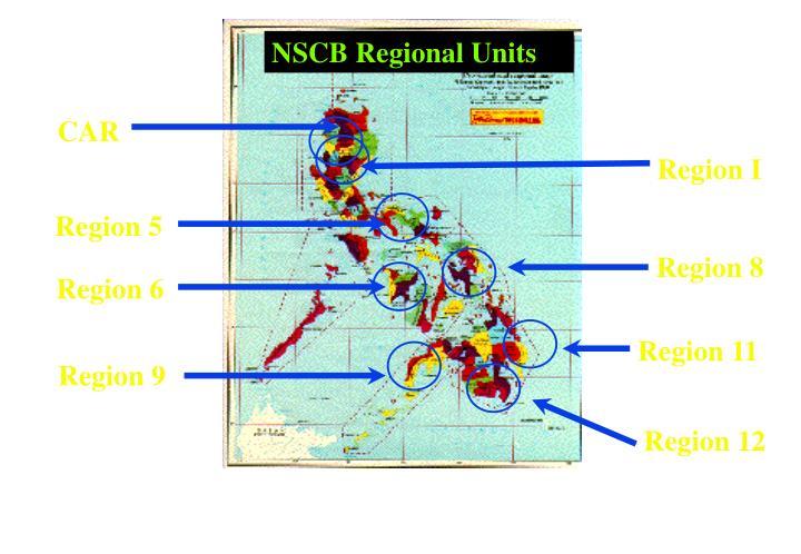 NSCB Regional Units