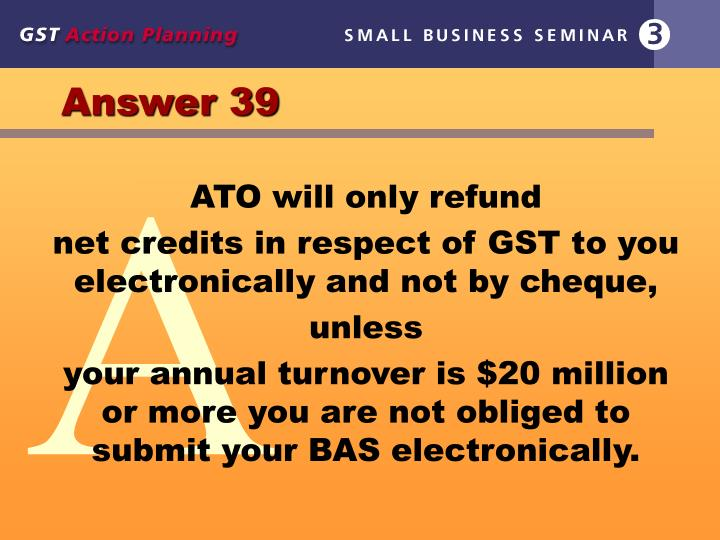 Answer 39
